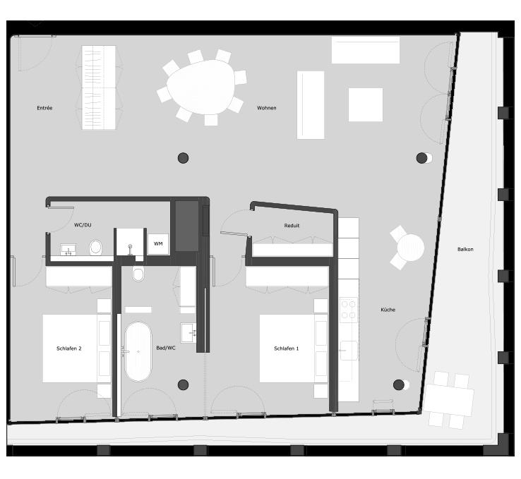 helsinkidreispitz wohnungen. Black Bedroom Furniture Sets. Home Design Ideas